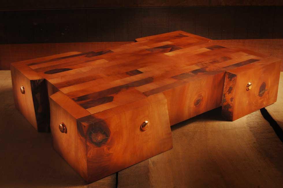 Tagliere artigianale in legno di pero
